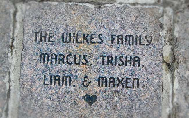 Aug 23, 2015 - A brick on the Tampa Riverwalk dedicated to the Wilkes Family and others in Tampa, FL/photonews247.com