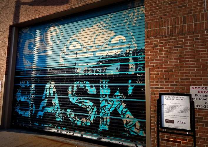 Artists Tes One And Bask Use Hyde Park Village As Canvas