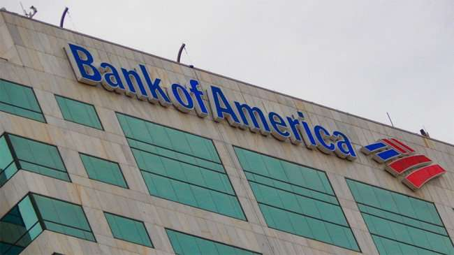 AUG 23, 2015 - Bank Of American name and logo on top of building Downtown Tampa, FL/photonews247.com