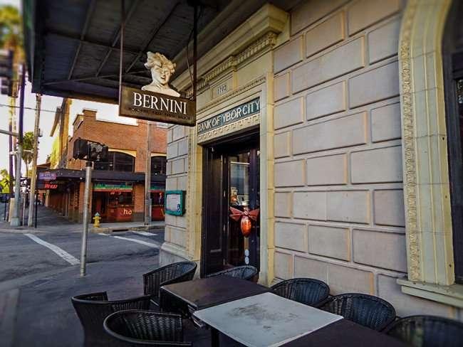 NOV 8, 2015 - Bank of Ybor City building houses the Bernini Italian Restaurant in Ybor City, Tampa, FL/photonews247.com