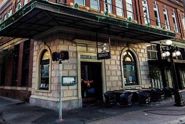 NOV 8, 2015 - Bernini Restaurant in Bank of Ybor building on 7th Ave, Ybor City Tampa, FL/photonews247.com