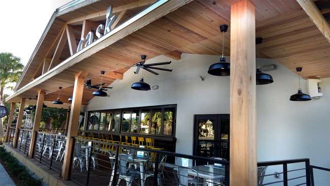 July 19, 2015 - Cask Social Restaurant on South Howard SoHo in Tampa, FL