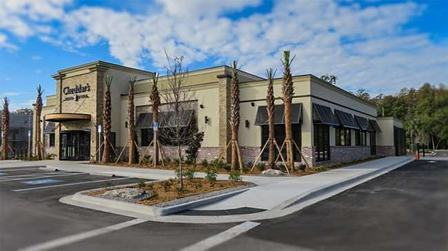 DEC 6, 2015 - Cheddar's Scratch Kitchen Restaurant building on N Dale Mabry opening 2016, Tampa,FL/photonews247.com