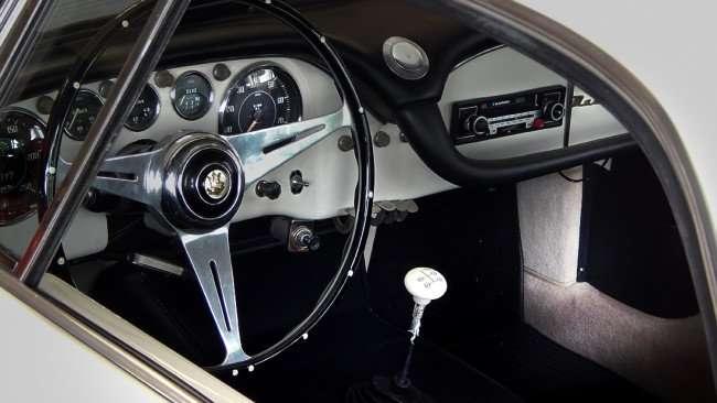 July 14, 2015 - Dashboard of Masserati 3500 GT SuperLeggara parked in showroom at Ferrari of Tampa