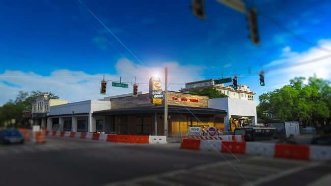 April 10, 2016 - Goody Burgers construction phase, Hyde Park Village, Tampa, FL/photonews247.com