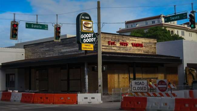 April 10, 2016 - Goody Goody Burger restaurant, Hyde Park Village, Tampa, FL/photonews247.com