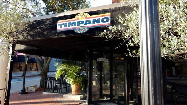 JULY 19, 2015 - Italian Timpano Chophouse in Hyde Park Village, Tampa, FL/2015 photonews247.com