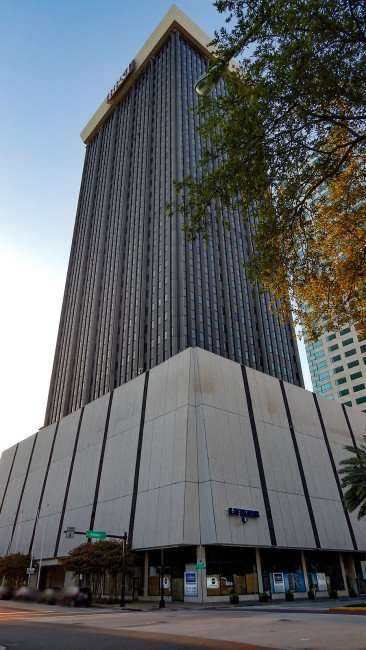 JULY 26, 2015 - Skyscraper Park Tower BB&T Bank (LYKES) on Ashley in downtown Tampa, FL/photonews247.com