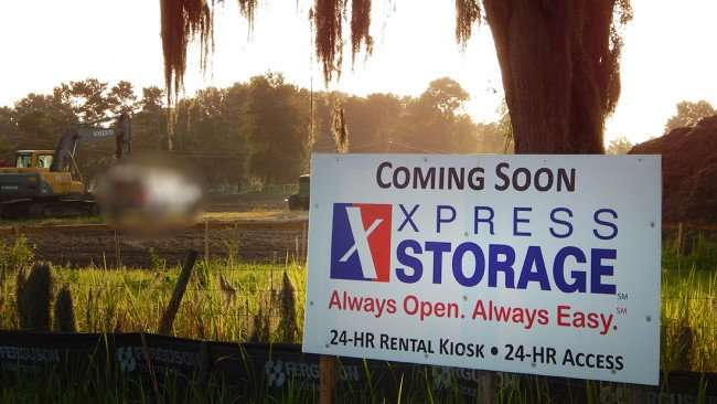 July 1, 2015 - Construction Express 24-hour Storage and Kiosk Hwy 301, Riverview SouthShore, FL