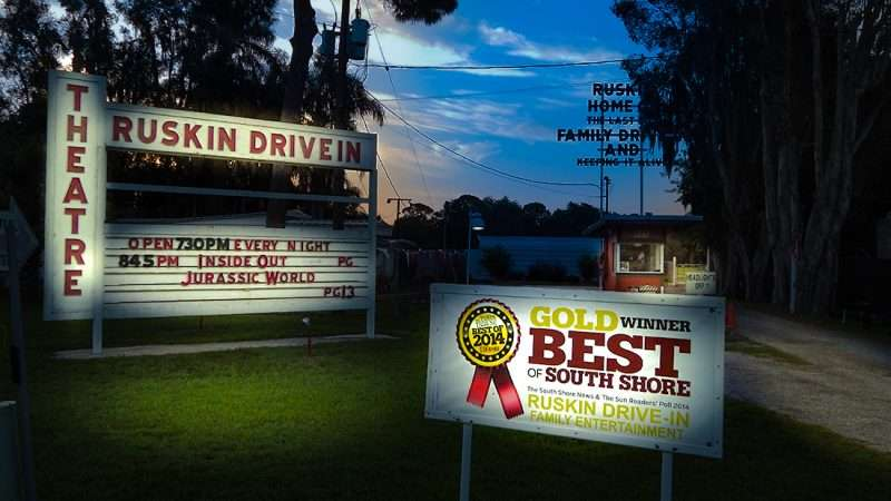 Ruskin drive inn