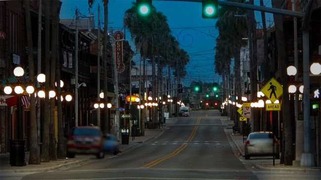 July 5, 2015 - Historic 7th Avenue in Ybor City