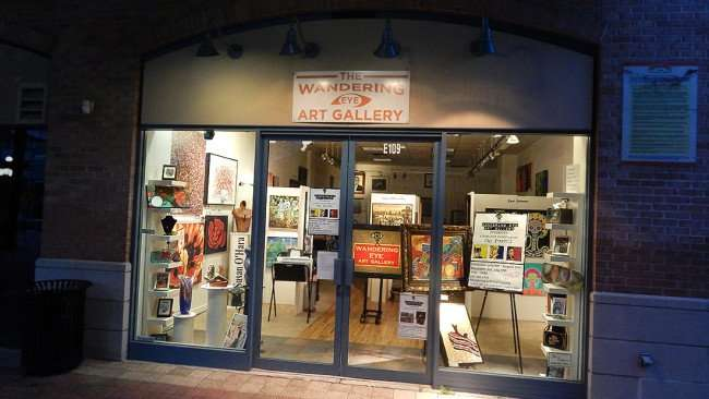 July 5, 2015 - The Wandering Eye Art Gallery in Centro Ybor, Tampa, FL