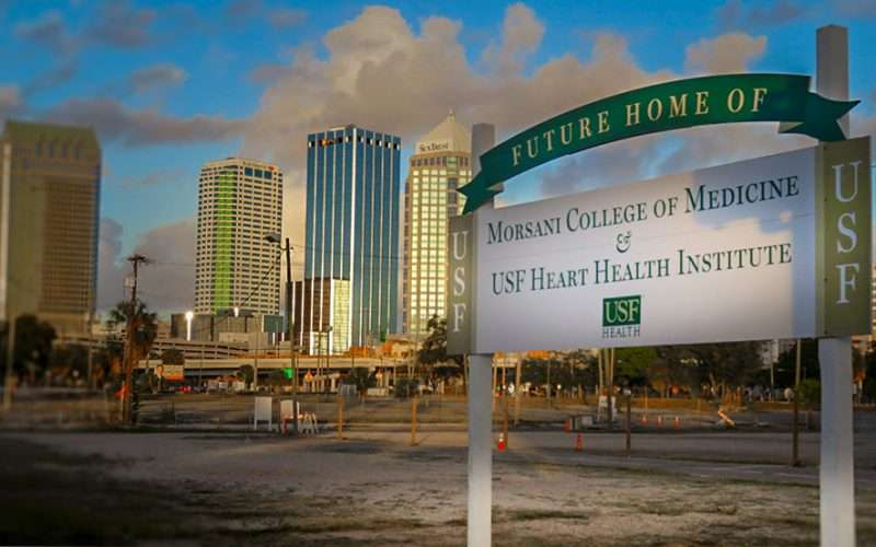 DEC 13, 2015 - New Medical School construction site in Channelside Tampa, FL/photonews247.com