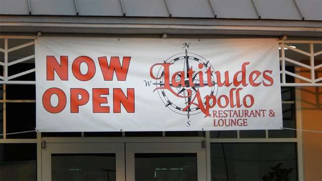 JULY 24, 2015 - Now Open Latitudes Apollo Restaurant and Lounge/2015 photonews247.com