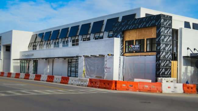 April 10, 2016 - On Swann, Salt Pines, The Shade Store under construction on Swann Ave in Hyde Park Village/photonews247.com