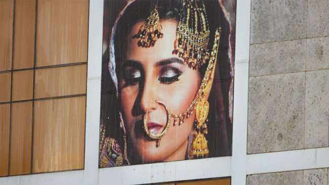 JULY 26, 2015 - Pakistani Bride by Jamie Francis on Photography Art Museum building in Tampa, FL/photonews247.com