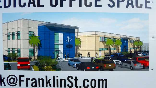 JULY 14, 2015 - Rendering of Medical Building by Franlin St Real Estate on 4531, 4541 S Dale Mabry, Tampa, FL/2015 photonews247.com