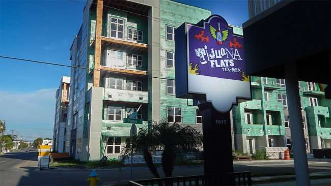 July 19, 2015 - Ti Juana Flats Tex-Mex on Platt Ave and Rome next to Broadstone Hyde Park apartments