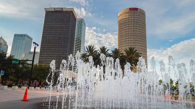 AUG 23, 2015 - Curtis Hixon Waterfront Park next to the Riverwalk, Downtown Tampa/photonews247.com