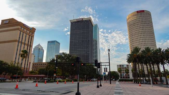 AUG 23, 2015 - Curtis Waterfront Park on Ashley Street in Downtown Tampa, FL/photonews247.com