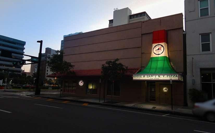 AUGUST 9, 2015 - Eddie and Sams NY Pizza Restaurant, Downtown Tampa, FL/photonews247.com