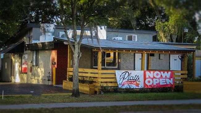 Dec 27, 2015 - Platts Pizza Pub now open on Platts Street in Soho, South Tampa, FL/photonews247.com