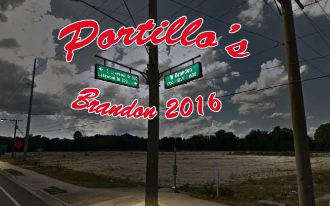 Portillo's Restaurant coming to Brandon, FL 2016/2016 Google copyrights