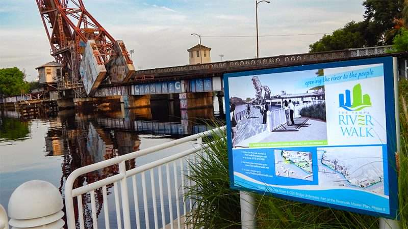 AUG 23, 2015 - Riverwalk plans underway to go under Cass Street Bridge/photonews247.com