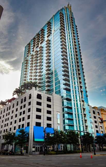 AUG 23, 2015 - Skypoint Luxury Condos in Downtown Tampa, FL/photonews247.com