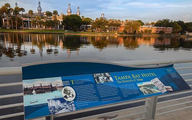AUG 23, 2015 - University of Tampa the former Tampa Bay Hotel from Curtis Hixon Waterfront Park, Tampa, FL/photonews247.com