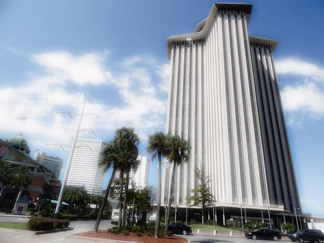 SEPT 14, 2015 - Animated rendering of World Trade Center (WTC) in New Orleans, LA/photonews247.com