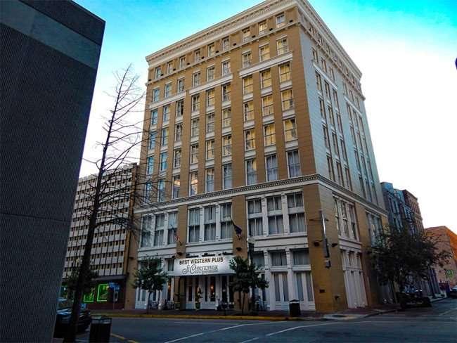 SEPT 14, 2015 - Best Western Plus St Christoper Hotel building in New Orleans, LA/photonews247.com