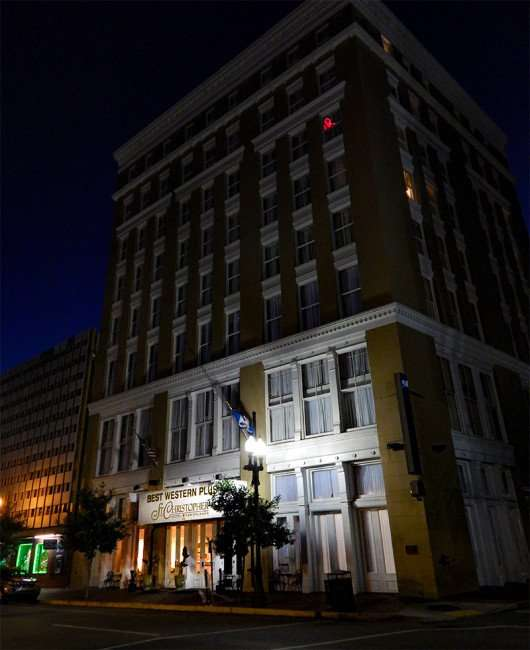 SEPT 14, 2015 - Best Western Plus St Christoper Hotel early morning in New Orleans/photonews247.com