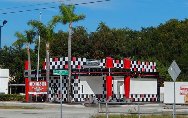 OCT 31, 2015 - Checkers Drive-In Restaurant construction site, Sun City Center, FL/photonews247.com