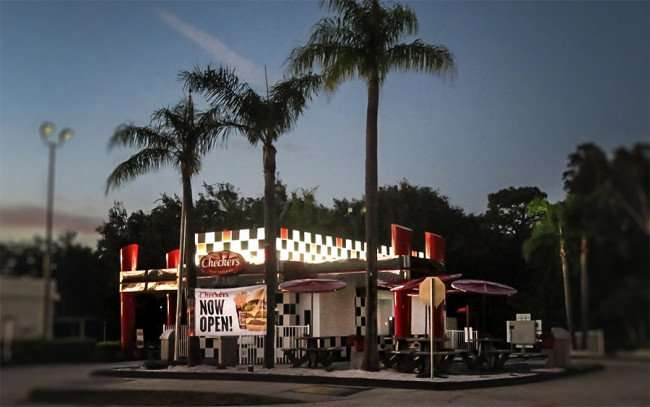 Dec 25, 2015 - Checkers Hamburger restaurant opens Dec 2015, Sun City Center Blvd, Ruskin, FL/photonews247.com