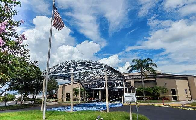 SEP 4, 2015 - Community Hall construction, Sun City Center, FL/photonews247.com