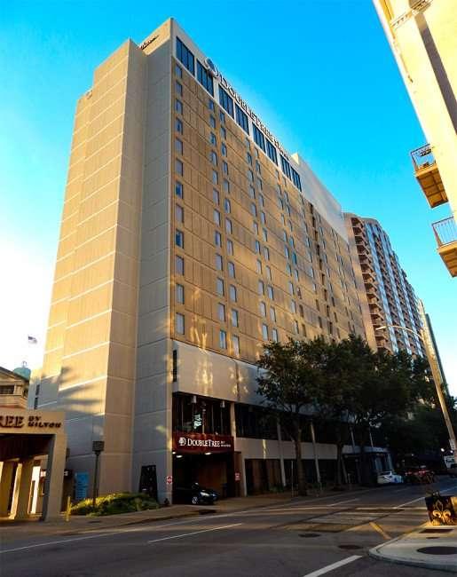 SEPT 14, 2015 - DoubleTree Hilton building in New Orleans, LA/photonews247.com