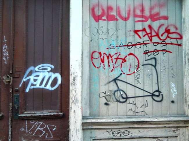 SEPT 13, 2015 - Graffiti art in the French Quarter/photonews247.com