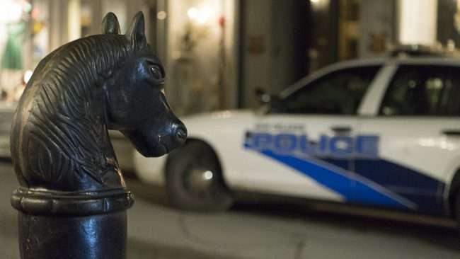 Dec 21, 2017 - Horse head hitching posts New Orleans, LA/photonews247.com