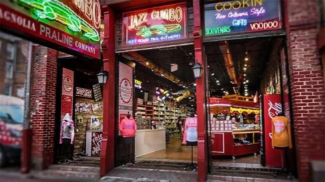 Dec 23, 2015 - Jazz Gumbo Praline and Souvenir Shop on Canal Street, New Orleans, LA/photonews247.com