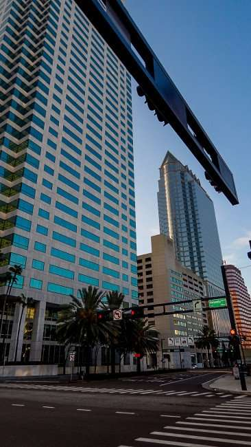 AUG 23, 2015 - Kennedy Street Rapture Collection no cars or people Downtown Tampa/photonewsw247.com