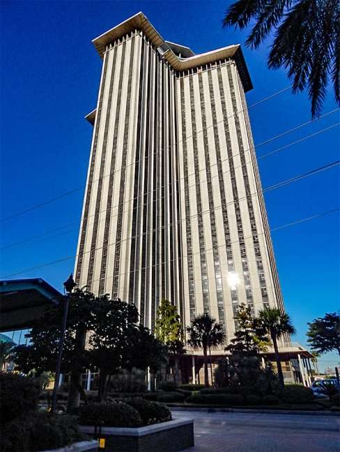 SEPT 13, 2015 - New Orleans World Trade Center to become W Hotel with rental apartments on the upper floors/photonews247.com