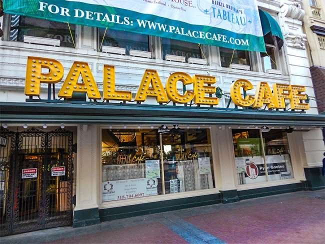 SEPT 13, 2015 - PALACE CAFE under construction getting new bar and kitchen in New Orleans/photonews247.com