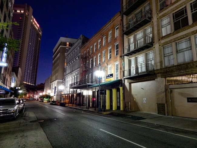 SEPT 14, 2015 Rapture Collection - Magazine Street early morning nobody in sight, New Orleans, LA/photonews247.com