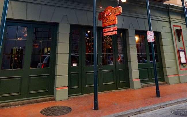 SEPT 13, 2015 - Red Fish Grill Restaurant award winning seafood on Bourbon Street/photonews247.com