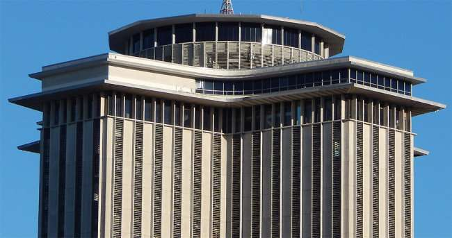 SEPT 13, 2015 - Revolving floor at top of New Orleans World Trade Center to become Four Season Hotel/photonews247.com