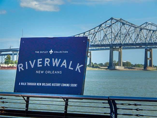 SEPT 14, 2015 - Riverwalk features history of New Orleans, LA/photonews247.com