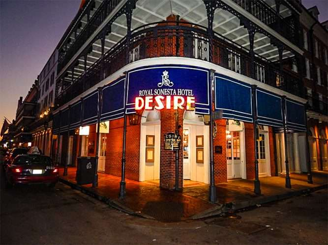 Sept 14 2017 Royal Sonesta Hotel Desire On Bourbon Street New Orleans La Photonews247