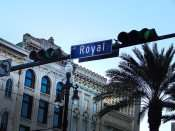 SEPT 13, 2015 - Royal Street sign New Orleans, LA/photonews247.com