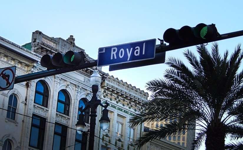 SEPT 13, 2015 - Royal Street sign New Orleans, LA/photonews247.com